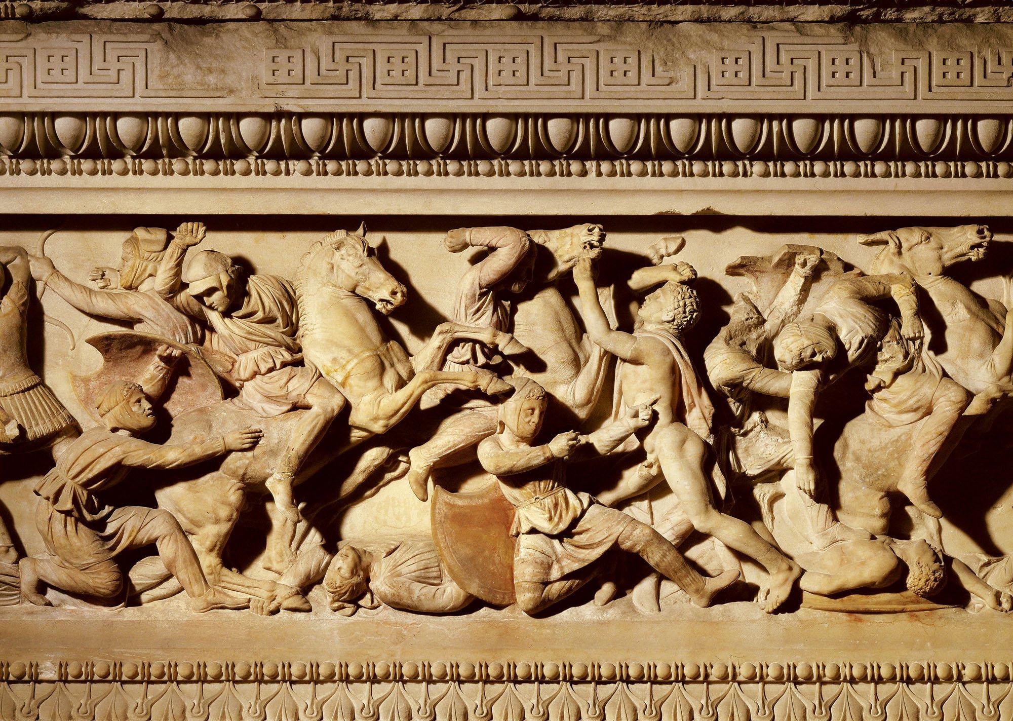 Alejandro contra el Imperio persa, la batalla de Issos