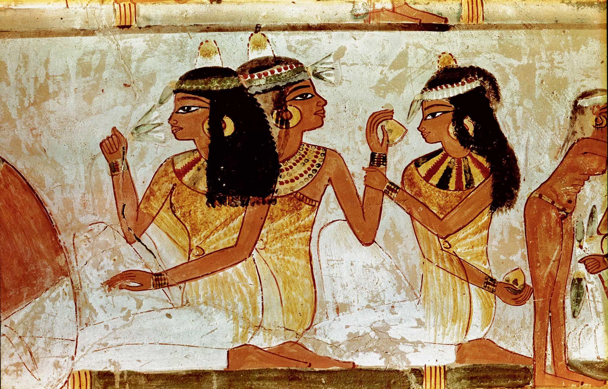 Los perfumes, pasión secreta de los egipcios