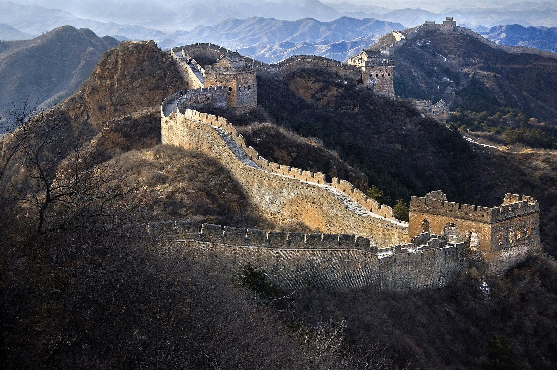La Gran Muralla China Se Desvanece