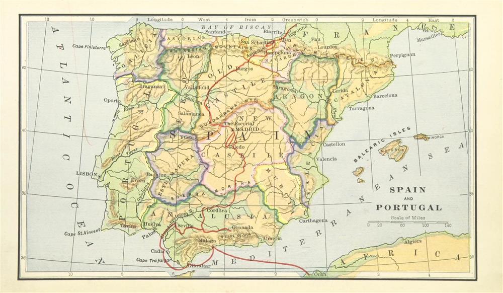 Mapas Del Siglo Xix El Mundo Entre Los Anos 1800 Y 1900