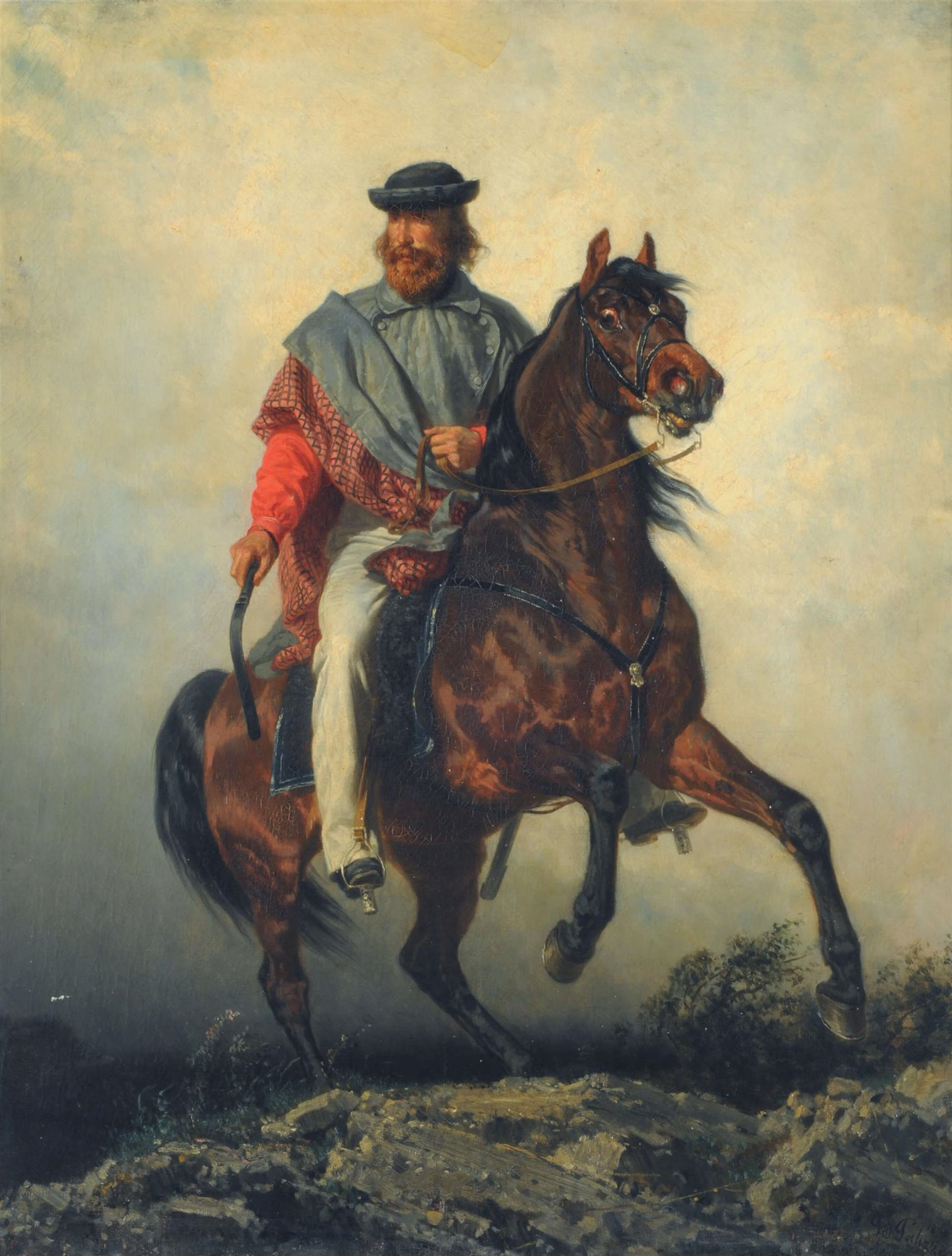 Garibaldi El Héroe De La Liberación De Italia