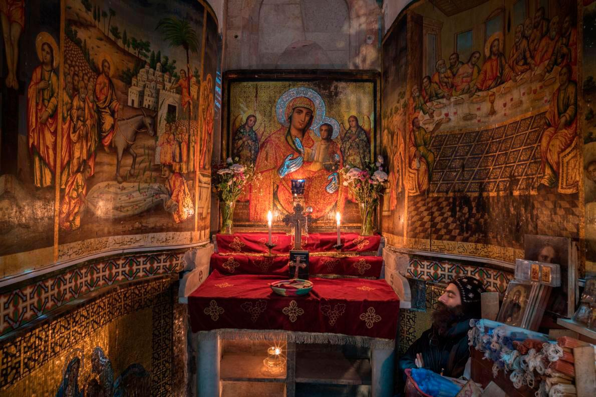Bible-archaeology-monk-coptic-orthodox-chapel-church-holy-sepulchreadapt11901_1ccb8634