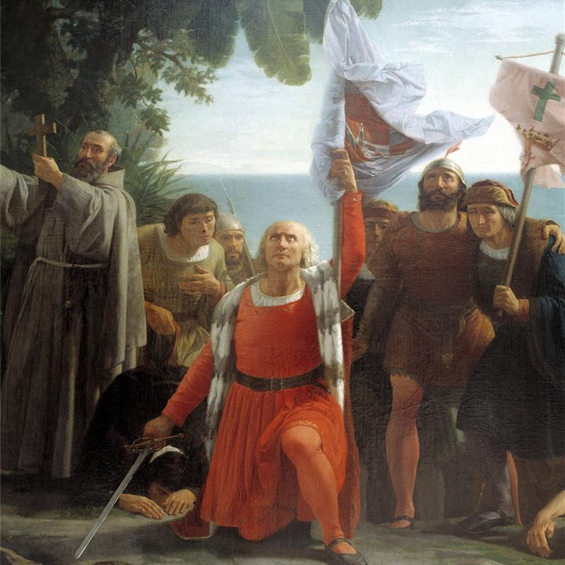 Cristóbal Colón avistó tierra firme americana