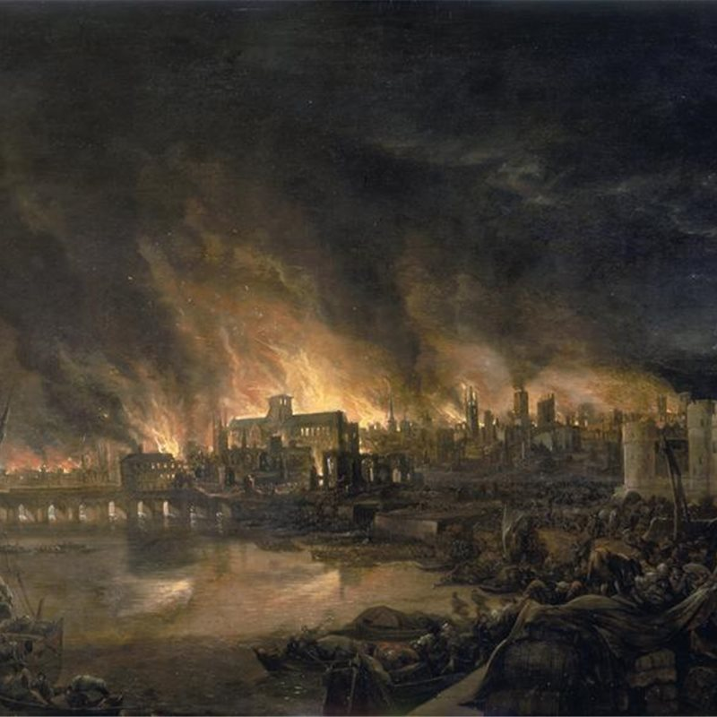 Christopher Wren y el gran incendio de Londres
