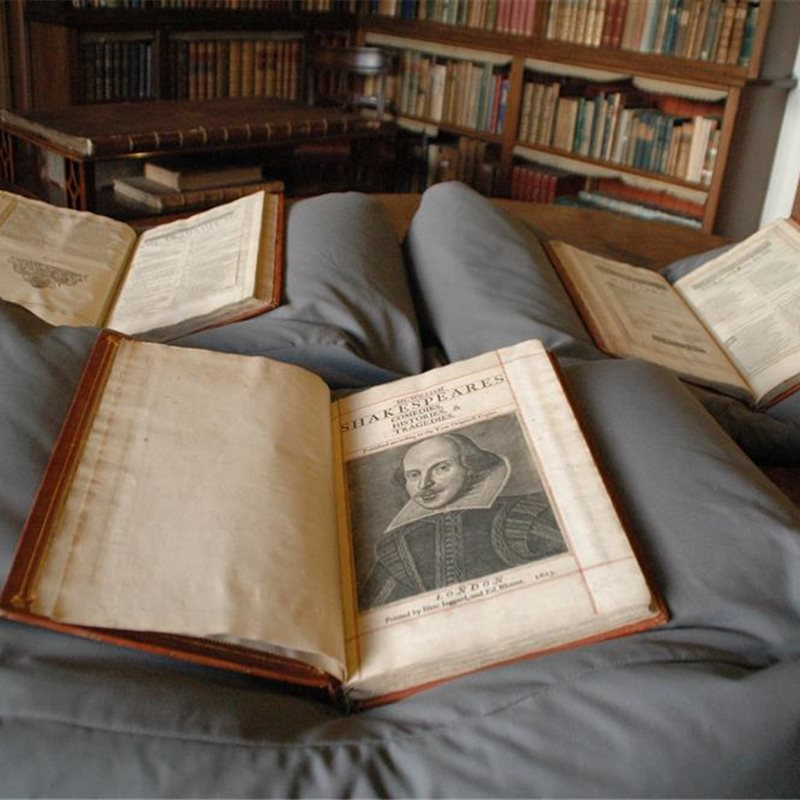 Una mansión escocesa escondía una copia del First Folio de Shakespeare
