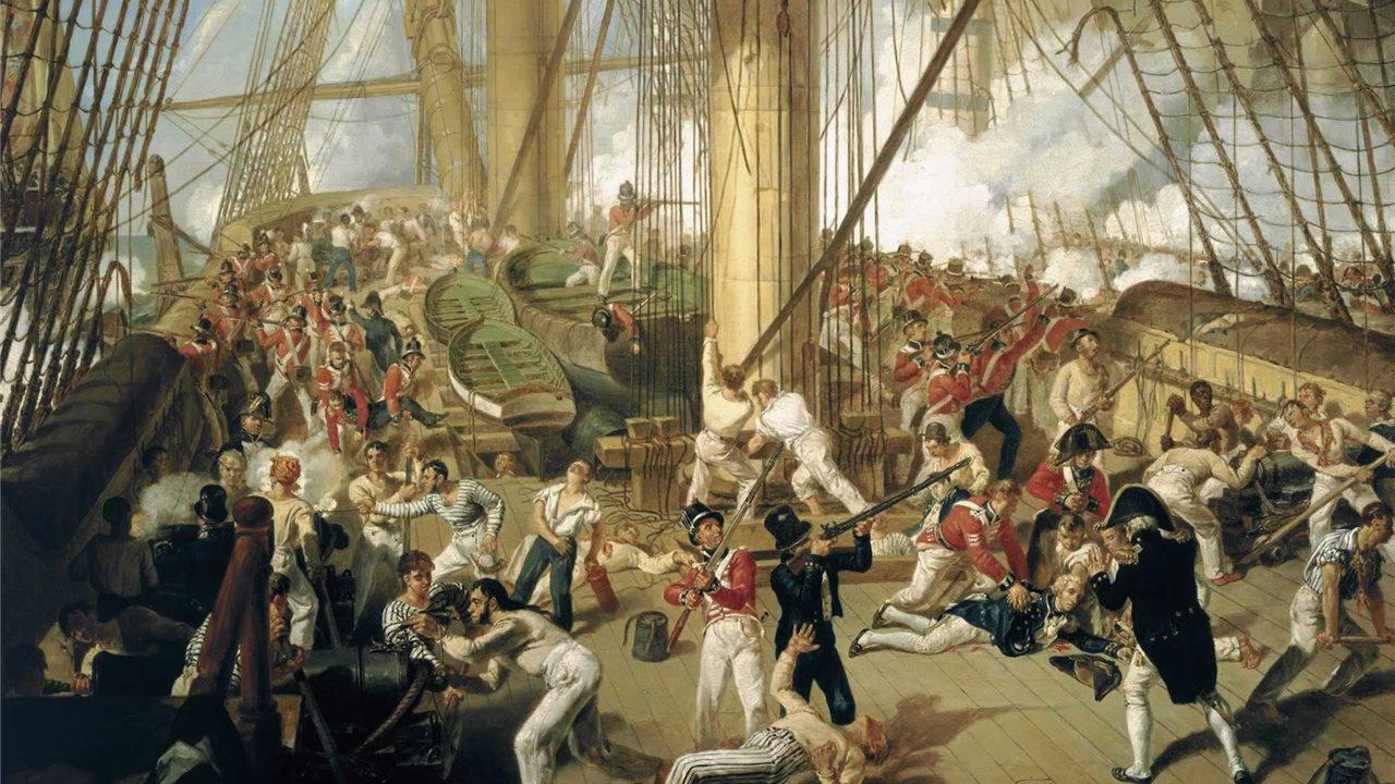 Batalla De Trafalgar Mapa.La Batalla De Trafalgar La Ultima Victoria De Nelson