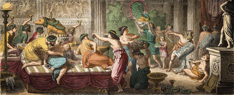Manjares En La Roma Imperial El Arte Del Exceso En Los