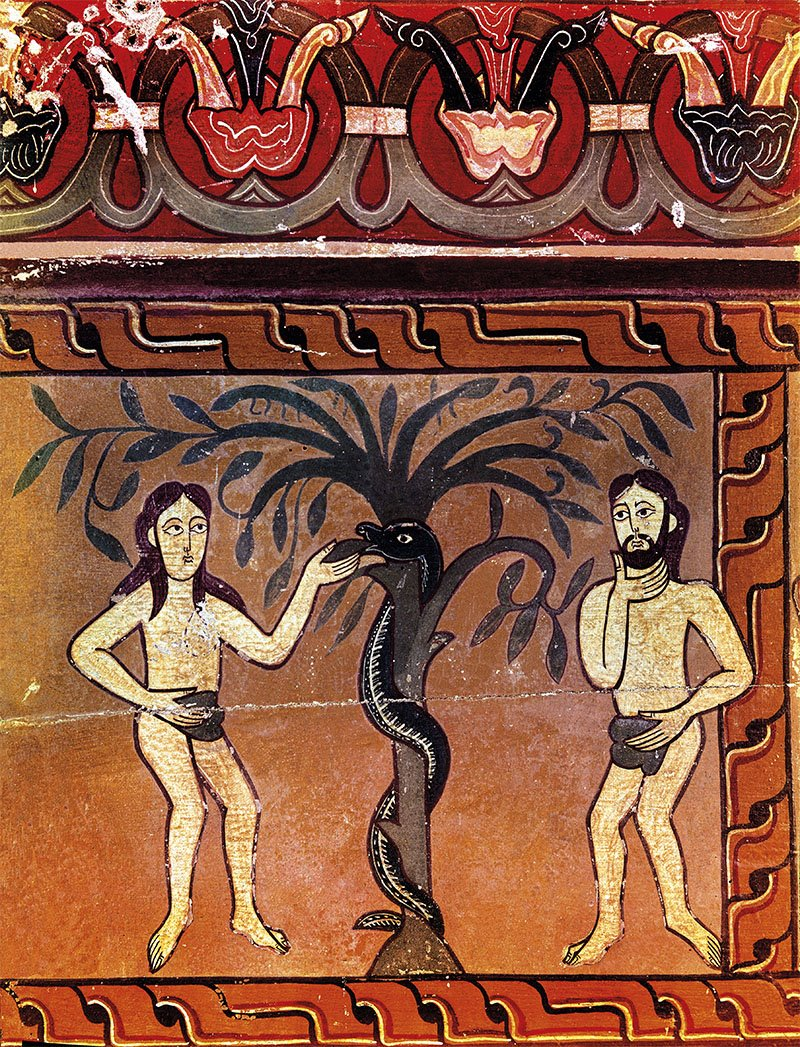 La serpiente, el animal maldito del Paraíso