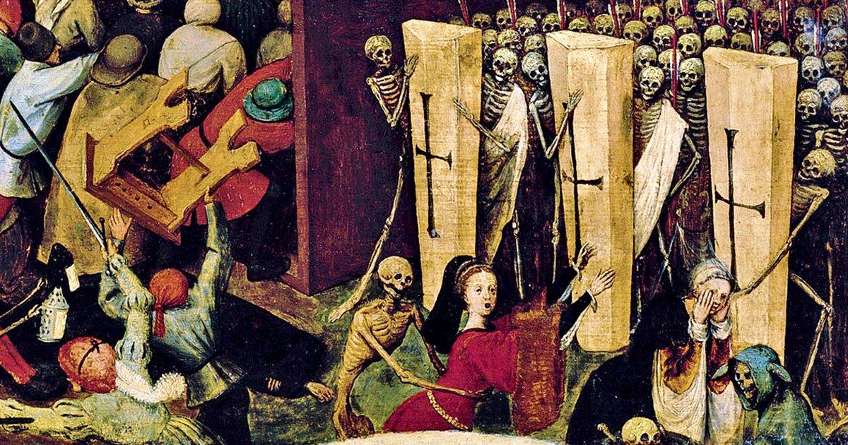 La peste negra, la epidemia más mortífera