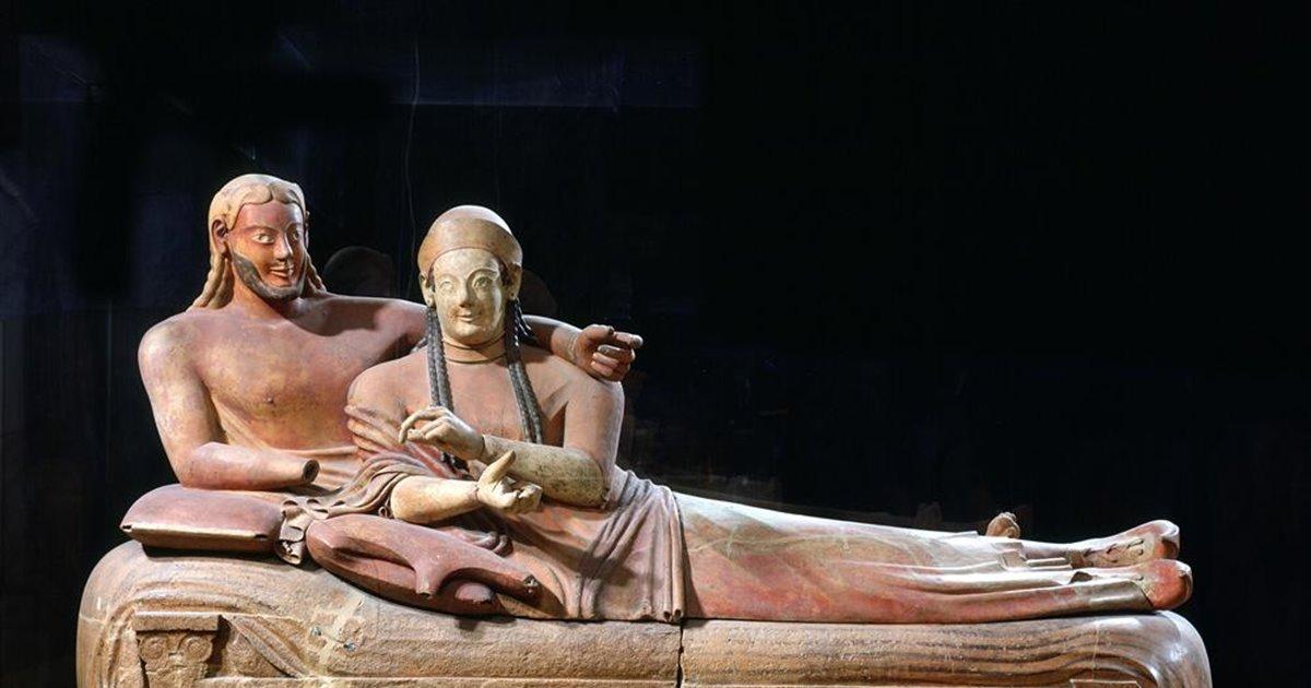 """La civilización etrusca era autóctona"""""""