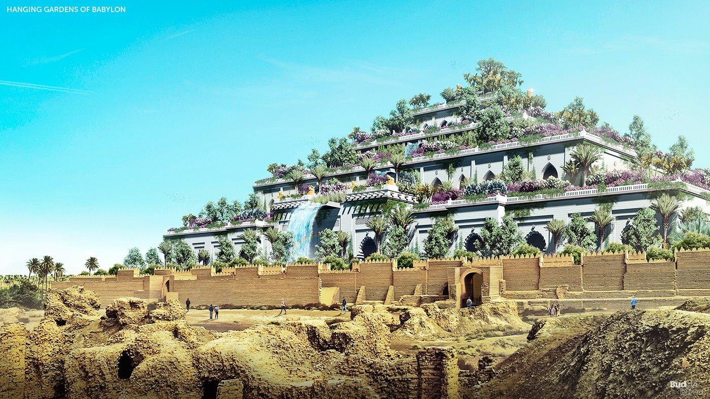 Asi Serian Los Jardines Colgantes De Babilonia En La Actualidad