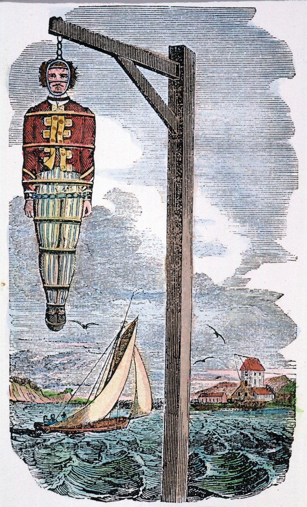 El final del capitán Kidd, el temido pirata inglés