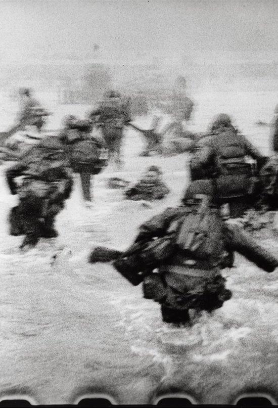 Robert Capa desembarco Normandia dia D 3