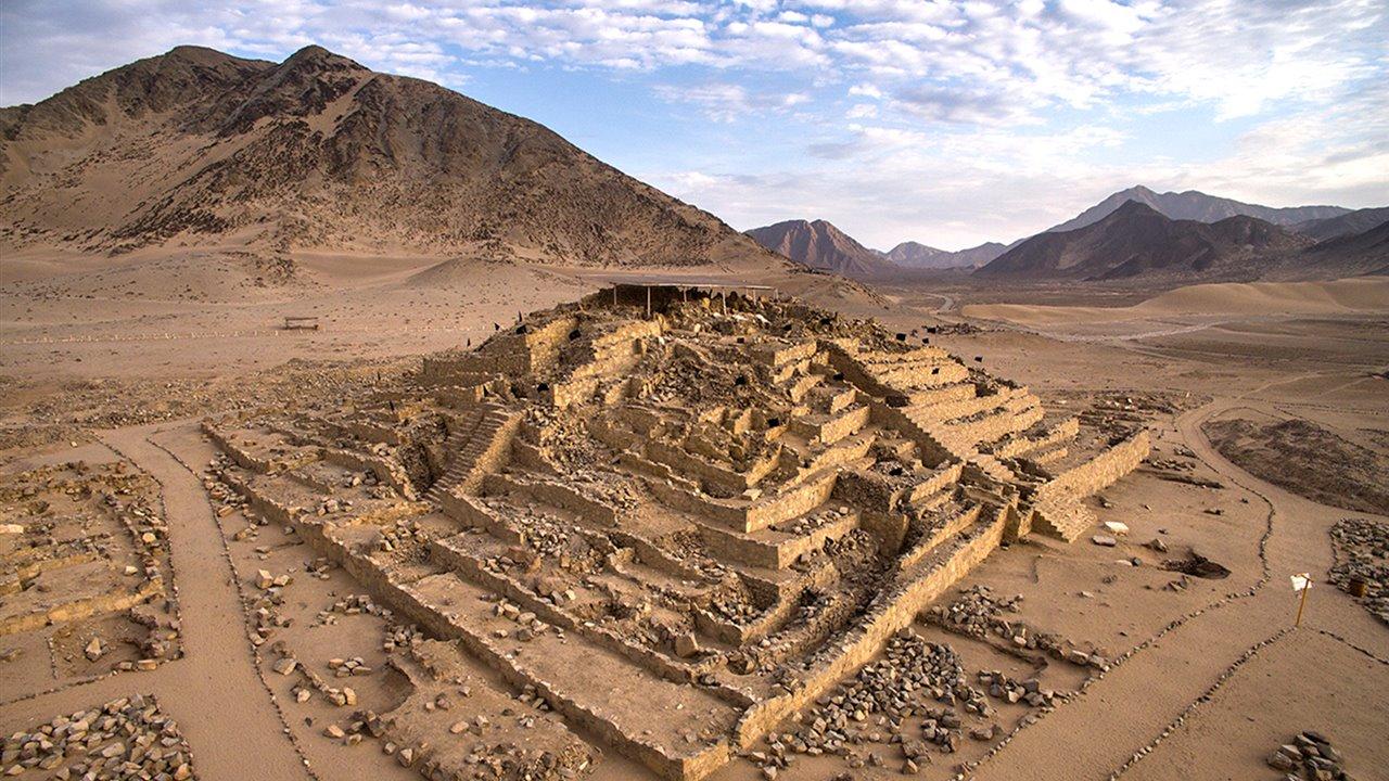 Caral Una Gran Civilizacion En El Norte De Peru