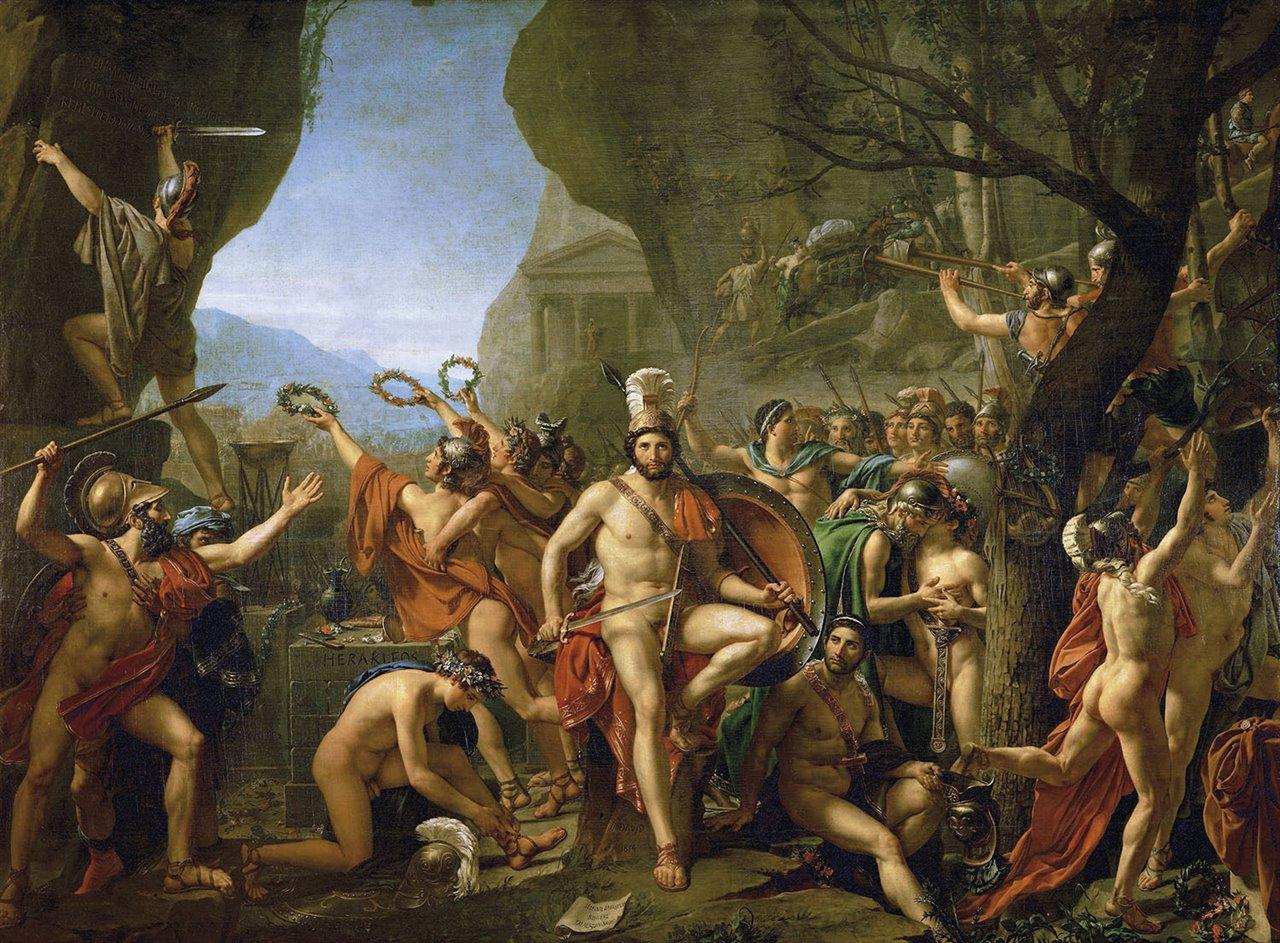 La batalla de las Termópilas: los héroes de Esparta