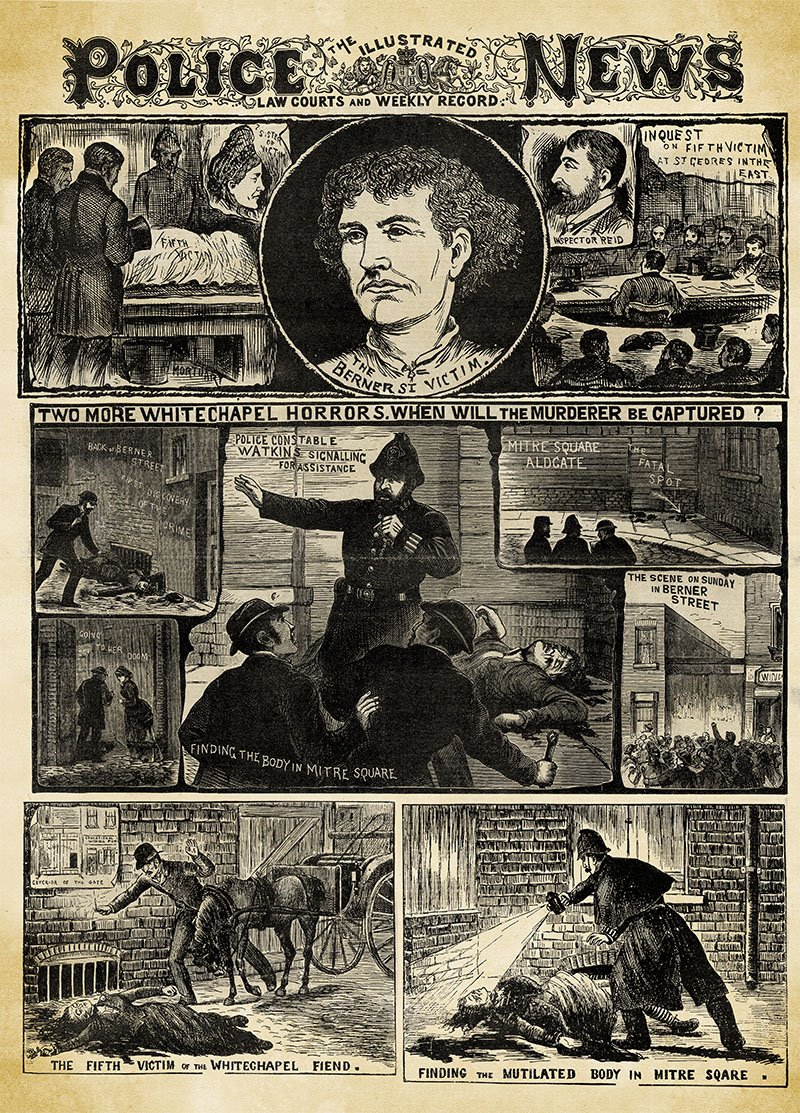 04 periodico Illustrated Police news Jack destripador