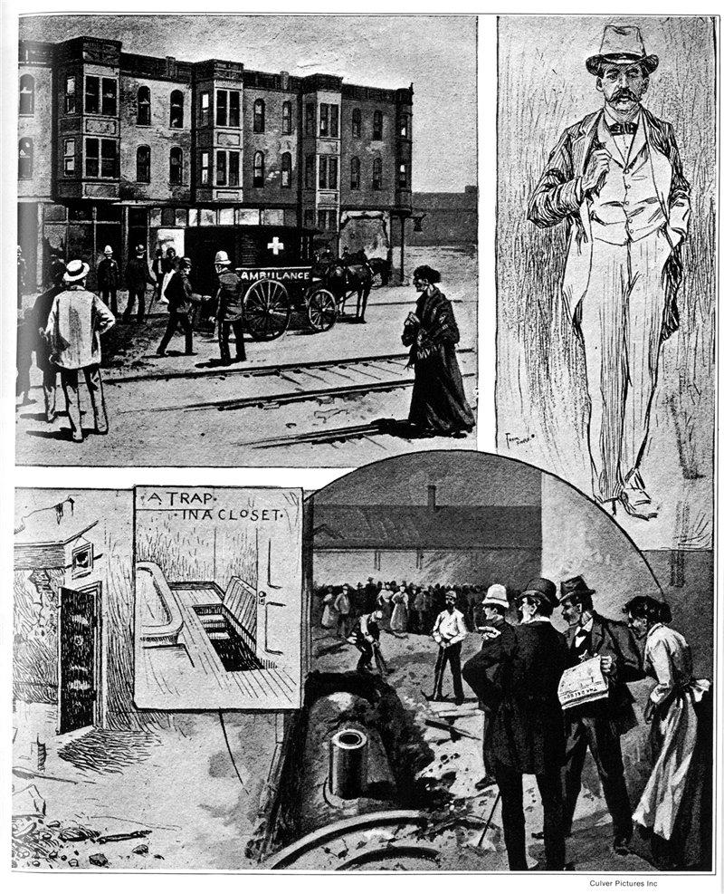 H H Holmes Un Asesino En Serie En La Exposición De Chicago