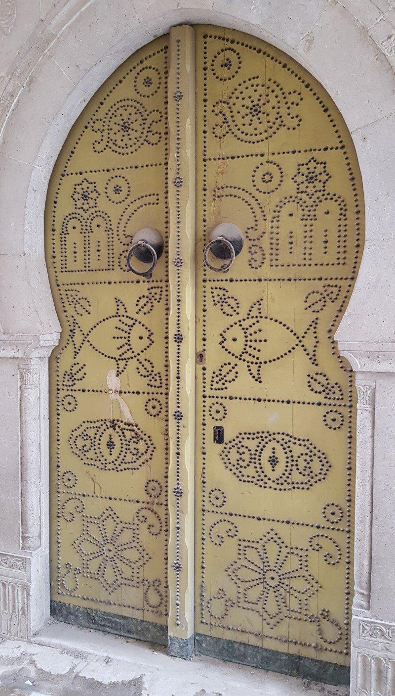 Puerta medina de Túnez