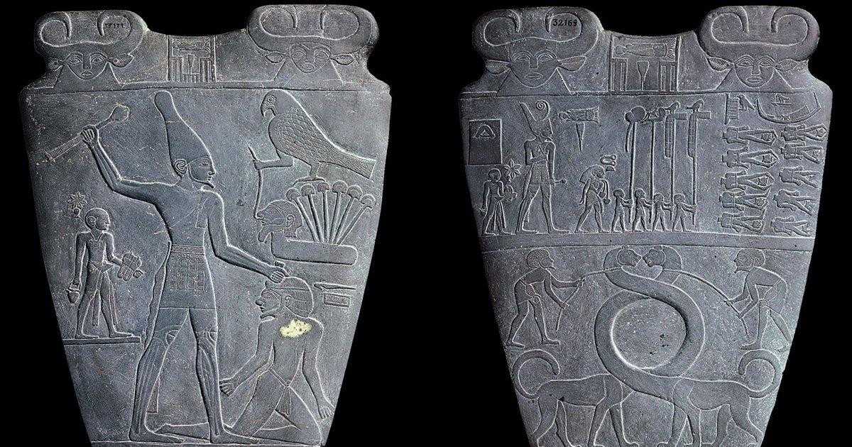 La Paleta De Narmer El Primer Faraón
