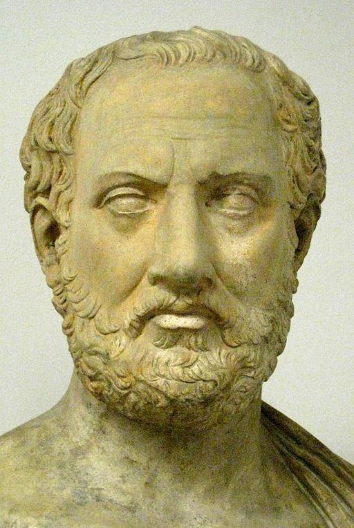 Busto de Tucídides.