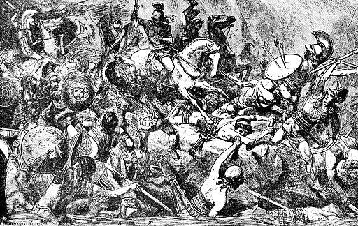 Destrucción del ejército ateniense en Sicilia durante la guerra del Peloponeso (415-413 a.C.)