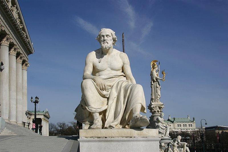 Tucídides pasó a la historia como uno de los grandes cronistas de la Antigüedad.