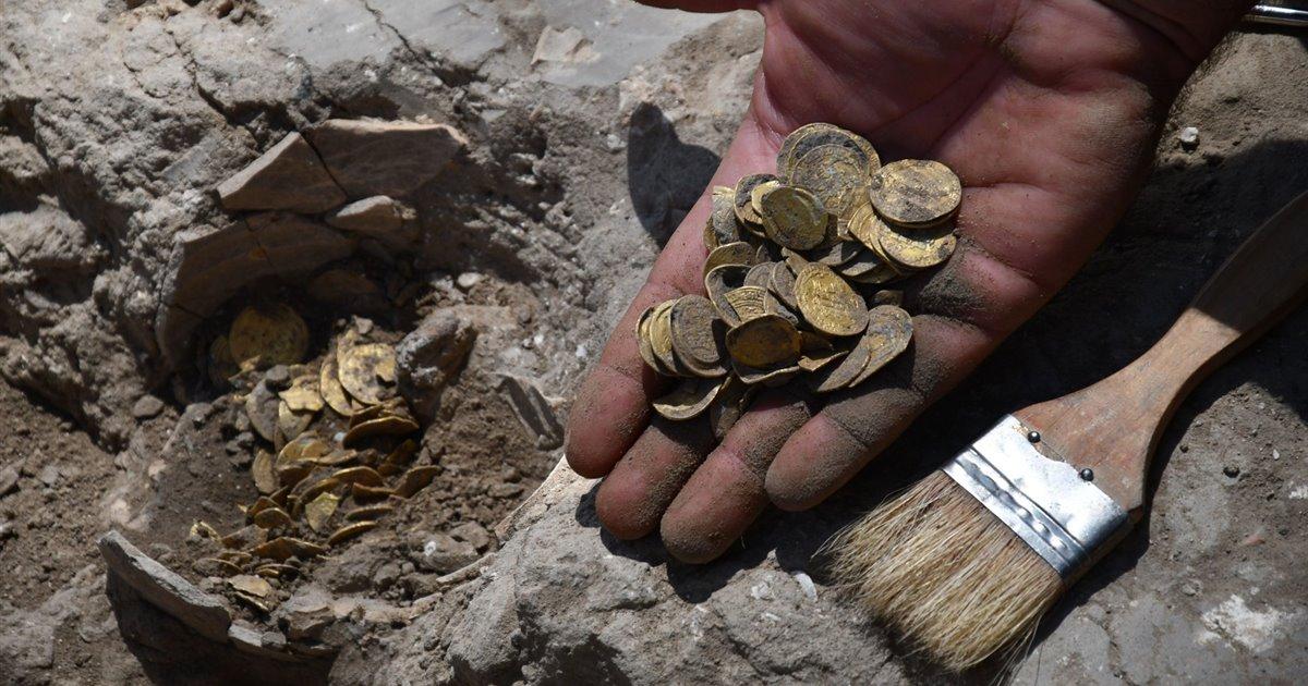 Descubierto en Israel un tesoro de más de 1.000 años de antigüedad
