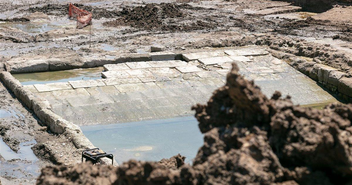 Descubren una misteriosa piscina romana de hace 2.300 años