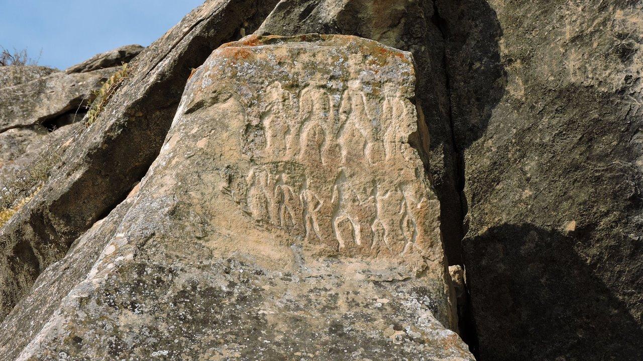Gobustán, arte paleolítico en Azerbaiyán