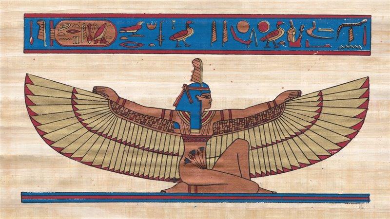El concepto de maat es fundamental en la cultura egipcia, ya que no sólo manifestaba el orden cósmico y la justicia divina sino también el equilibrio social y político.