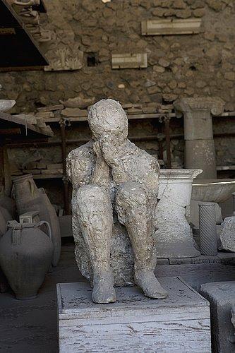 Cómo murieron los habitantes de Pompeya