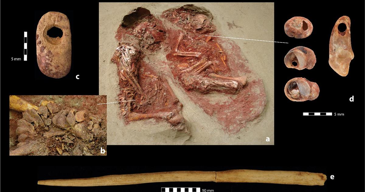 El entierro de gemelos más antiguo del mundo tiene 31.000 años | National Geographic