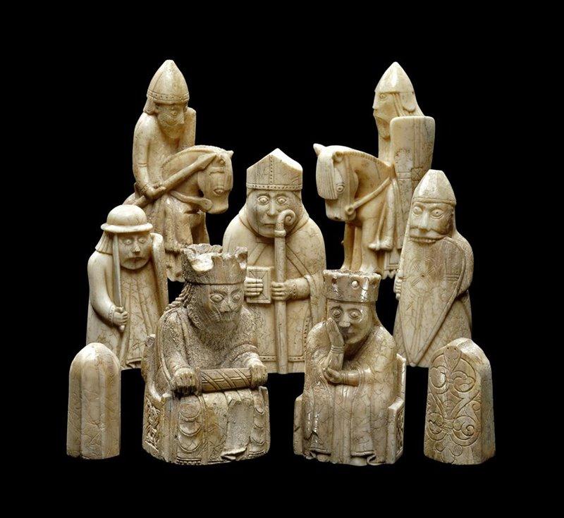 «El arte de los juegos y los juegos en el arte, desde Babilonia hasta el Occidente medieval»