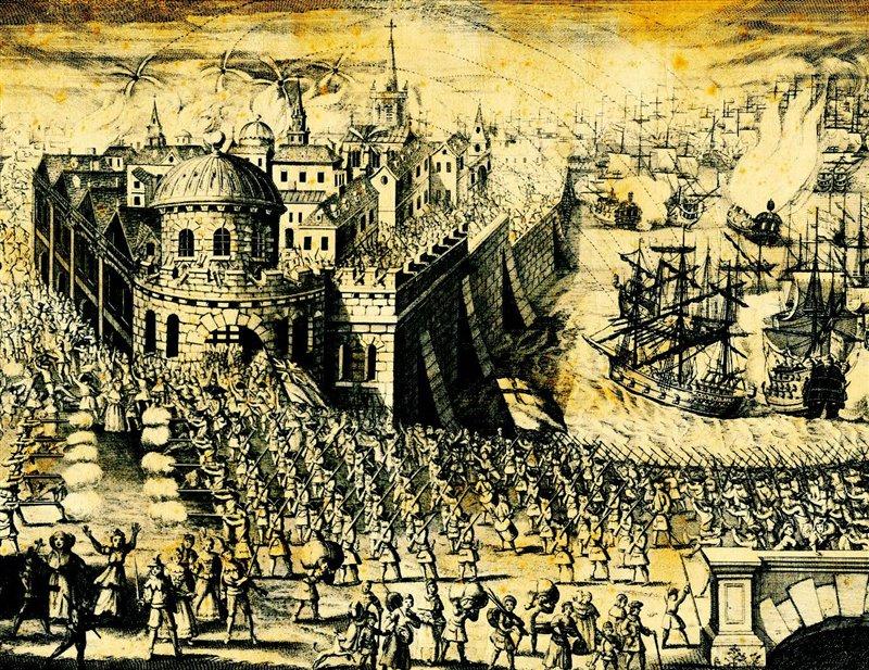 El Fallido Asedio Británico A Cartagena De Indias