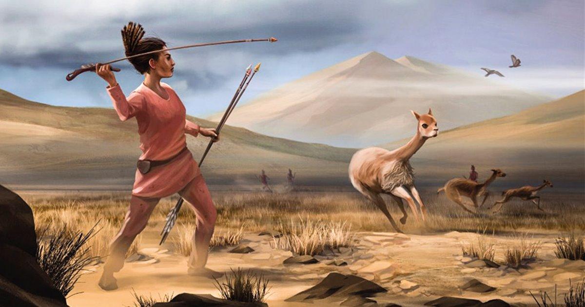 La tumba de una mujer cazadora