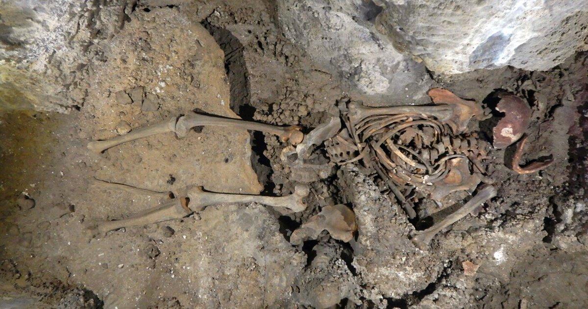 El hombre de Loizu, los restos humanos más antiguos descubiertos en Navarra