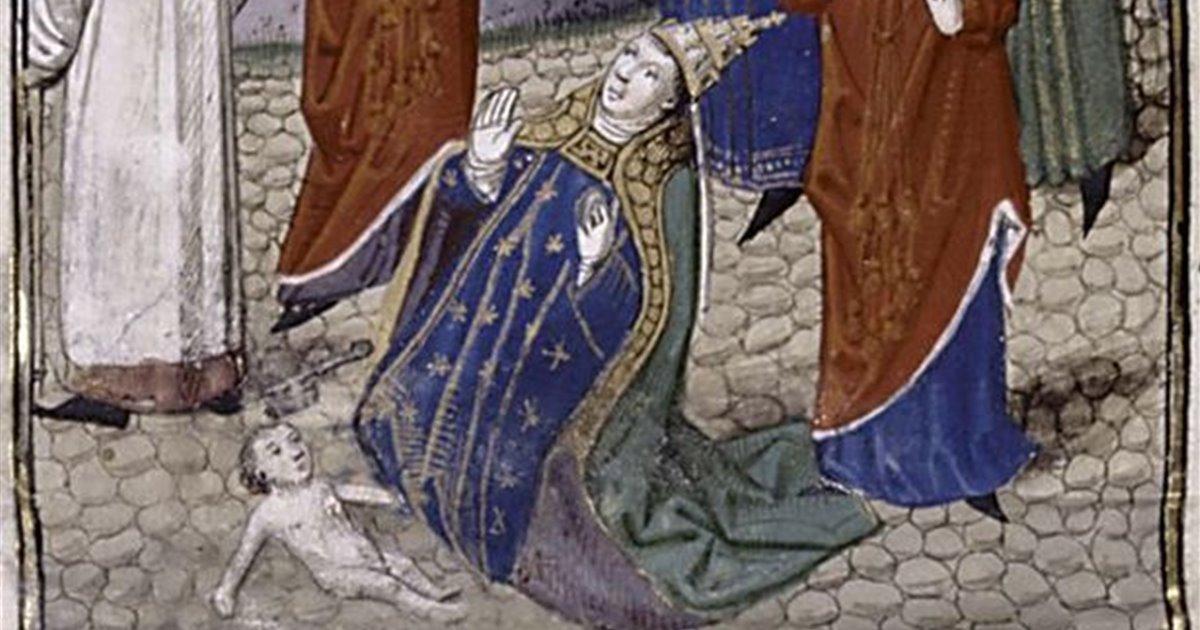 La increíble leyenda de la papisa Juana