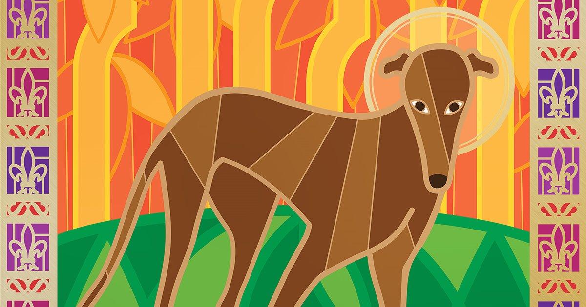 San Guinefort, el perro santo protector de los niños
