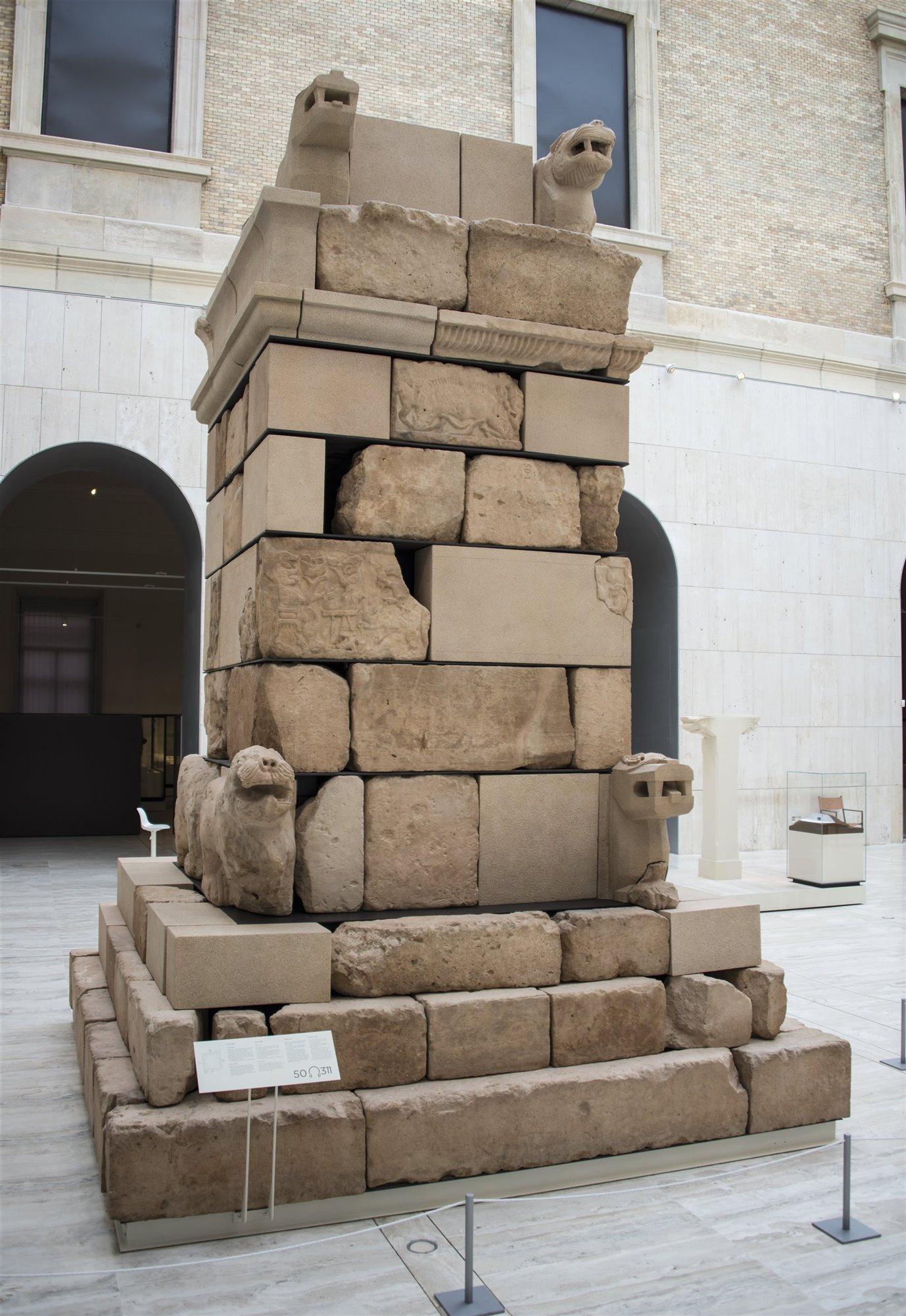 El monumento de Pozo Moro