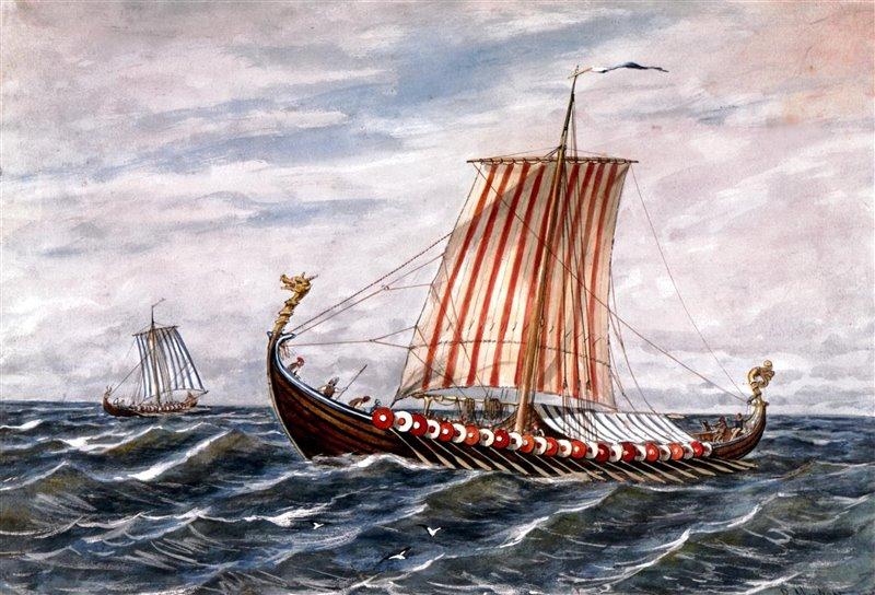 Ubicada en medio del fiordo de Horsens, la isla era una visión habitual para los mercaderes y marineros que acudían a la ciudad.