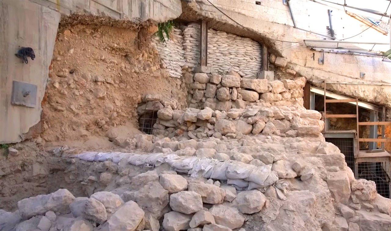 Muralla oriental Jerusalén